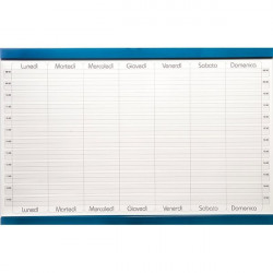 Planning magnetico 5 Star - settimanale - 60x90 cm