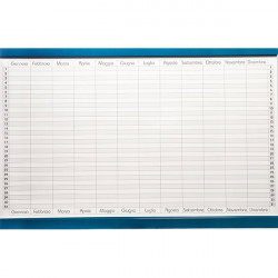 Planning magnetico 5 Star - annuale - 60x90 cm