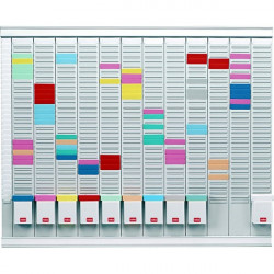 Professional Planner con schede a T Nobo - 66x80 cm