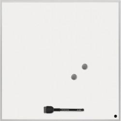 Lavagna-pannello quadrata Bi-Office - 45x45 cm - bianco - magnetica
