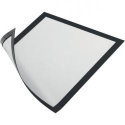 Cornice magnetica Durable - A4 - 25x0,45x32,5 cm - porta avvisi - nero (conf.5)