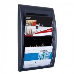 Espositori da muro Quick Fit System Paperflow - Modulo a 4 tasche f.to A4 - orizzontale - K540601