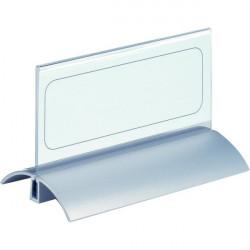 Portanome da tavolo Desk Presenter De Luxe Durable - 6,1x15 cm (conf.2)