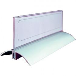 Portanome da tavolo Desk Presenter De Luxe Durable - 6,1x21 cm (conf.2)