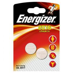 Pile Energizer Specialistiche - Litio - 2016 - 3 V (conf.2)
