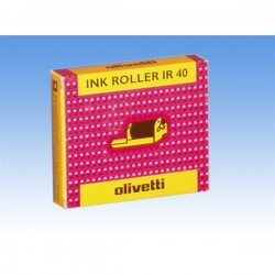 Originale Olivetti 80878 Conf. 2 Ink roll IR 40 nero