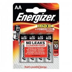 Pile Energizer Alkaline Max - AA - Stilo (conf.4)