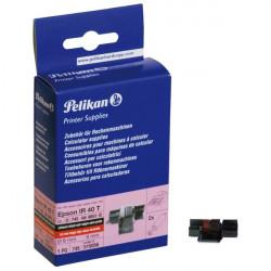 Compatibile Pelikan per Olivetti 81129 Conf. 2 ink roll CP13 IR40T nero-rosso nero