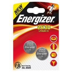Pile Energizer Specialistiche - CR2430 - litio (conf.2)