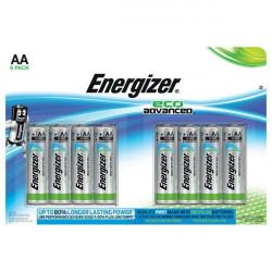 Batterie eco Advanced Energizer - AA (conf.8)