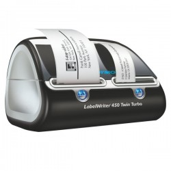 Dymo LabelWriter 450 Twin Turbo - taglio manuale - 71 etichette/minuto