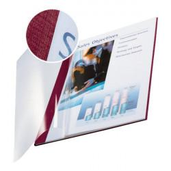 Copertine flessibili con fronte trasparente Esselte - 10-35 ff -rosso scarlatto (conf.10)