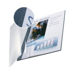 Copertine flessibili con fronte trasparente Esselte - 71-105 fogli - blu marina (conf.10)