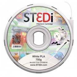 Originale ST3DI ST-6008-00 Filamento in bobina plastica PLA bianco