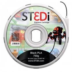 Originale ST3DI ST-6007-00 Filamento in bobina plastica PLA nero