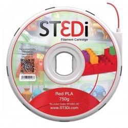 Originale ST3DI ST-6001-00 Filamento in bobina plastica PLA rosso