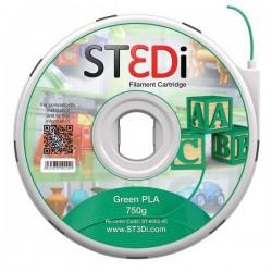 Originale ST3DI ST-6002-00 Filamento in bobina plastica PLA verde