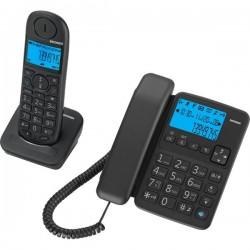 Telefono Doppio BRAVO PLUS DUO Brondi - Nero (conf.2)