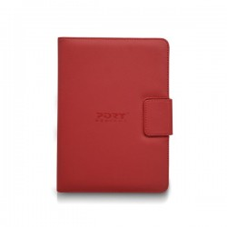"Custodia universale Tablet Port Designs - 7"" - rosso"
