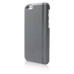 Custodie per iPhone Moleskine - rigida iPhone 6/6s - Classic - grigio ardesia