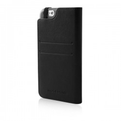 Custodie per iPhone Moleskine - a libro iPhone 6 Plus/6s Plus - Classic - nero