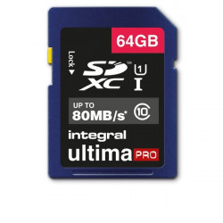 Flash memory card Integral - 64 GB