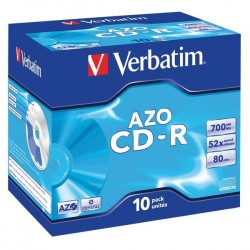 CD Verbatim - CD-R - 700 Mb - 52x - Jewel case
