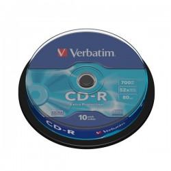 CD Verbatim - CD-R - Spindle - 52x (conf.10)