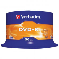 DVD Verbatim - DVD-R - 4,7 Gb - 16x - Spindle (conf.50)