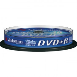 DVD Verbatim - DVD+R - 4,7 Gb - 16x - Spindle (conf.10)
