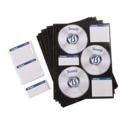 Busta archiviabile per CD/DVD Tecnostyl - 6 CD (conf.10)