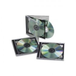 Custodia per doppio CD Fellowes - trasparente (conf.5)