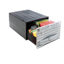 Schedari mod MediaSolutions 160 Exponent World - Multimedia Box - 35x25,5x17,3 cm - 47 CD/DVD