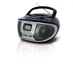 Radio-Lettore Cd-Mp3 Boombox Irradio - Rosso/Nero