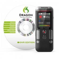 Registratore vocale digitale DVT2710 Philips - grigio/nero