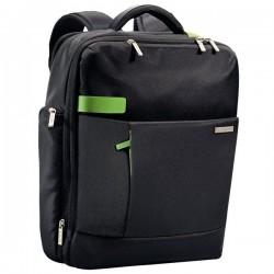 Zaino Smart Traveller Leitz Complete Per Pc - 15x40x31 cm - Nero/Verde