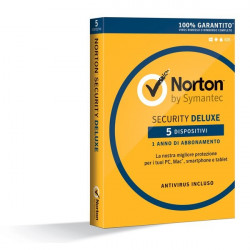 Symantec Norton AntiVirus 2016 - Abbonamento Full 5 PC