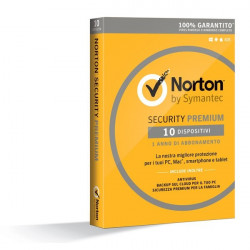 Symantec Norton AntiVirus 2016 - Abbonamento Full 10 PC
