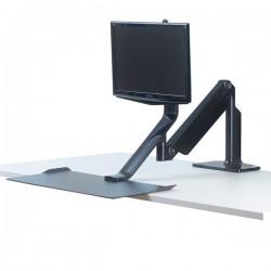 Piattaforma di lavoro Extend Sit-Stand Fellowes - monitor doppio
