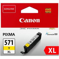 Originale Canon 0334C001 Cartuccia inkjet alta capacità CLI-571Y XL 1 giallo