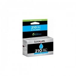 Originale Lexmark 14L0175E Cartuccia inkjet alta resa 210XL ciano