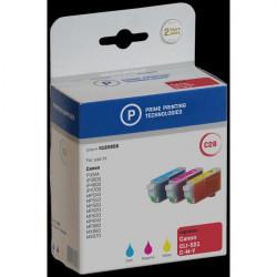 Compatibile Prime Printing per CANON 2934B010 Conf. 3 serbatoi ml. 9x3 ciano+magenta+giallo